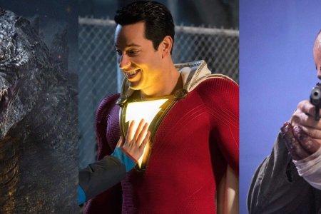 Filmové novinky: Godzilla podruhé, Shazam! a bijec Dave Bautista