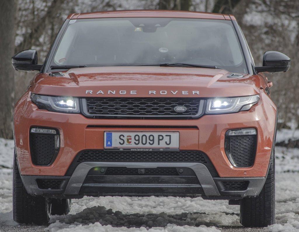 Náš autotest: Dokáže Evoque v terénu to samé jako pravý Range Rover?