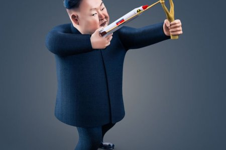 Diktátor Kim Čong Un ze Severní Koreje