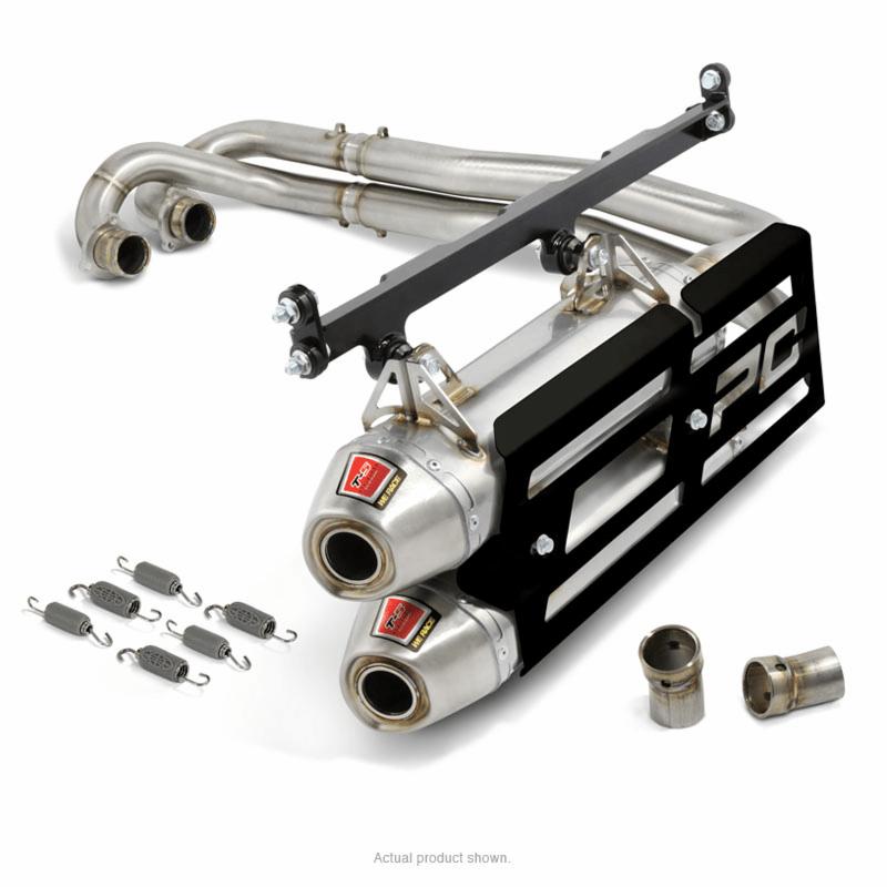 dual exhaust system polaris rzr xp 900