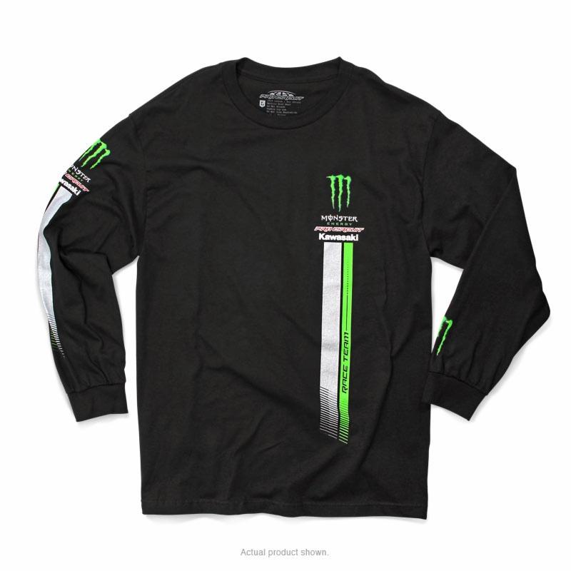 Pro Circuit The Quake Black Size Large Tshirt Tee Shirt Monster