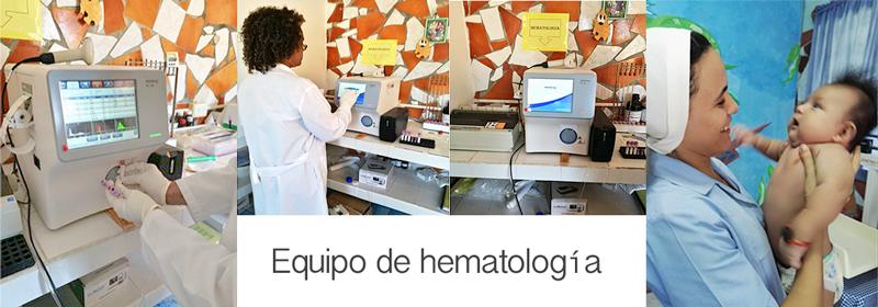 Equipo de Hematologia