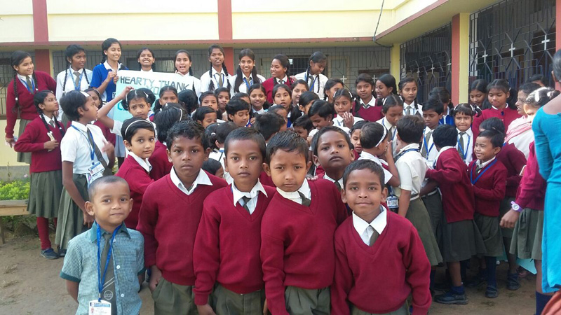 Escolarización Bisrail India