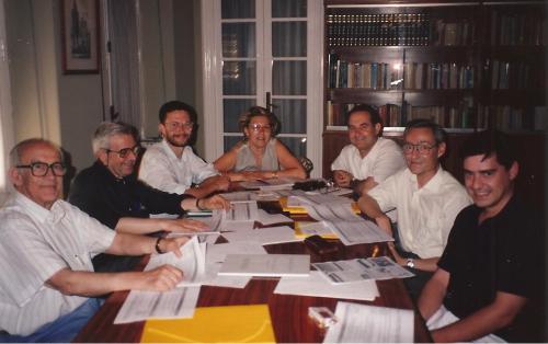 Primera Junta Directiva de Proclade Bética. 1994