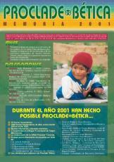 MEMORIA PROCLADE BÉTICA 2001