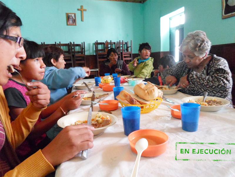 Comedor de la casa de la caridad proclade b tica for Proyecto social comedor comunitario
