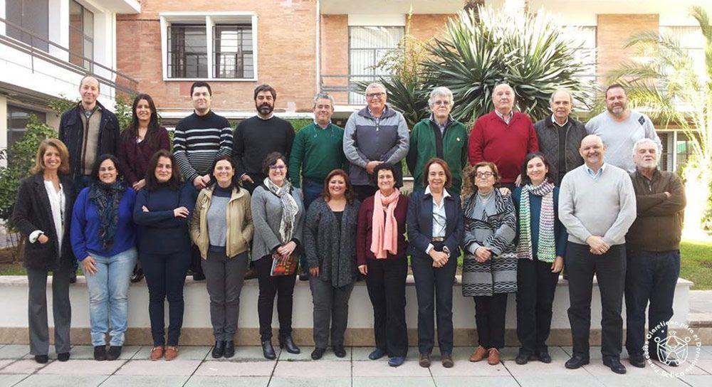 Reunión Junta Directiva y Delegados. Enero 2016