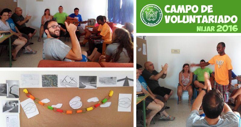 Campo de Voluntariado. Níjar 2016. Día 1