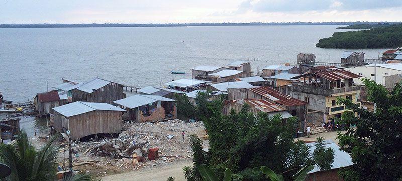 destrozos terremoto Ecuador