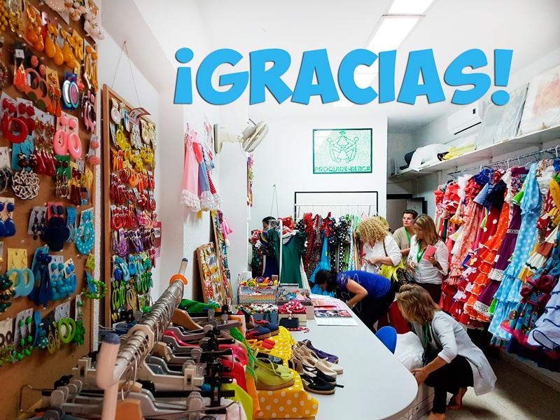 VI Rastrillo de moda flamenca