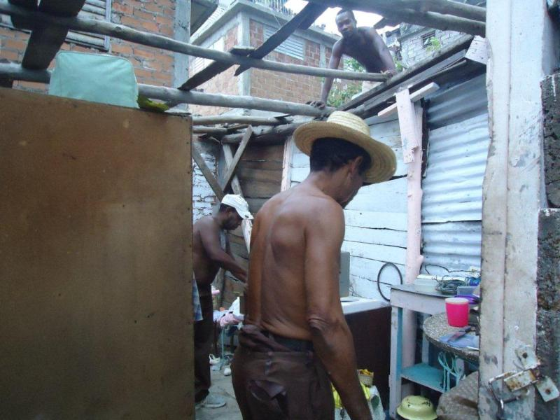 Hurcán Sandy Santiago de Cuba