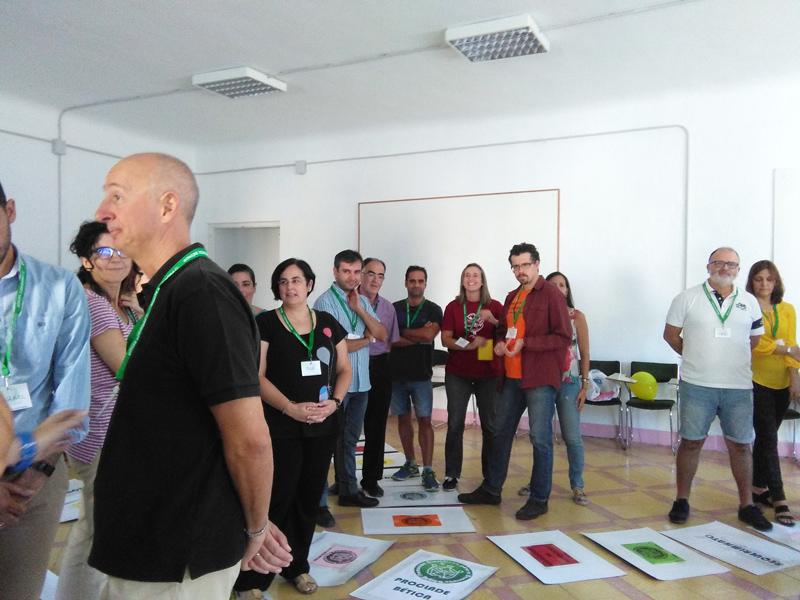 VIII Encuentro de Voluntariado. grupos