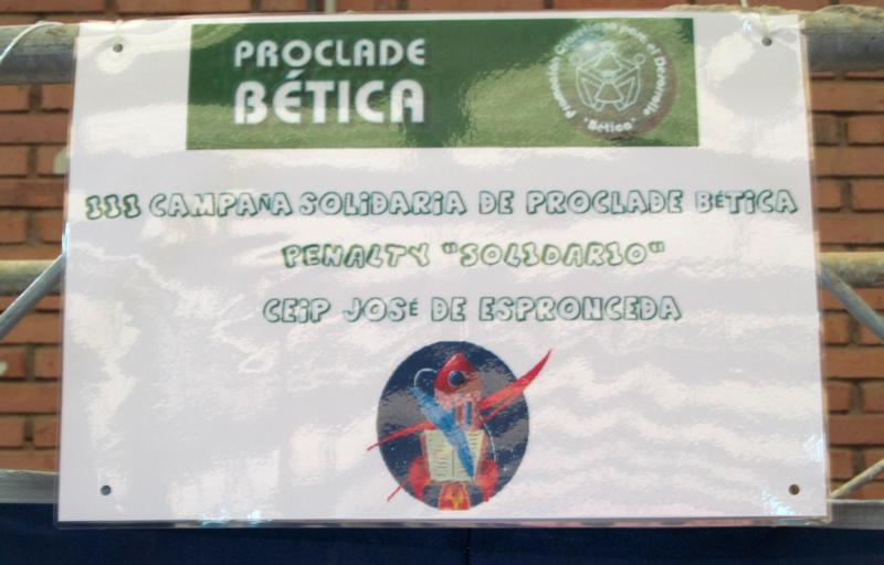 Penaltis Solidarios CEIP José de Espronceda