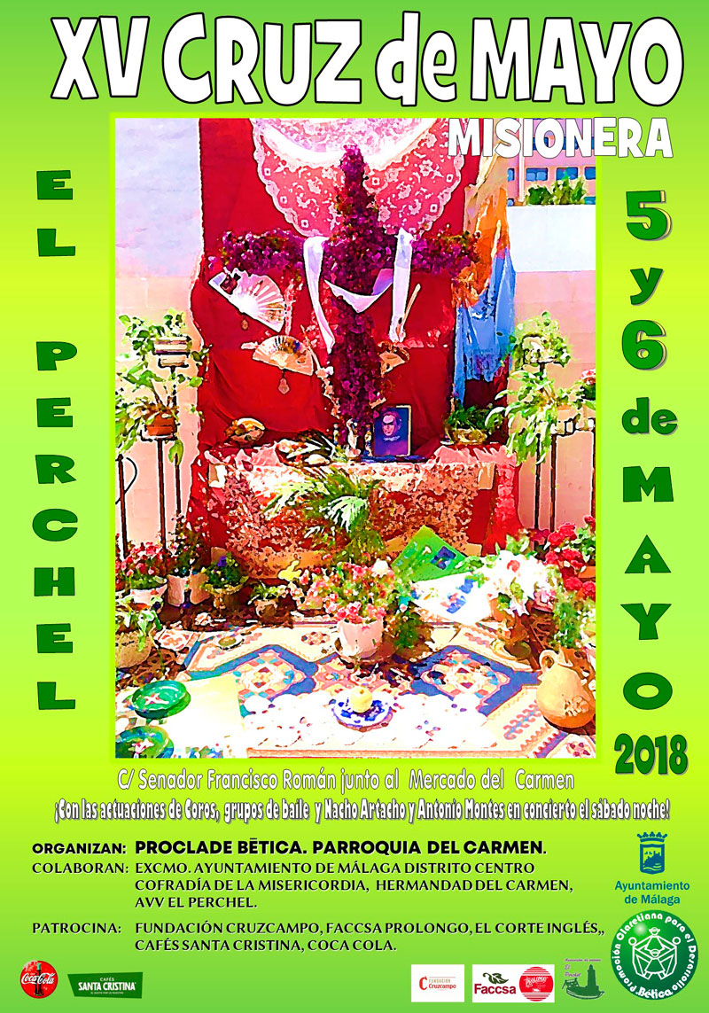 XV Cruz de Mayo Misionera en Málaga