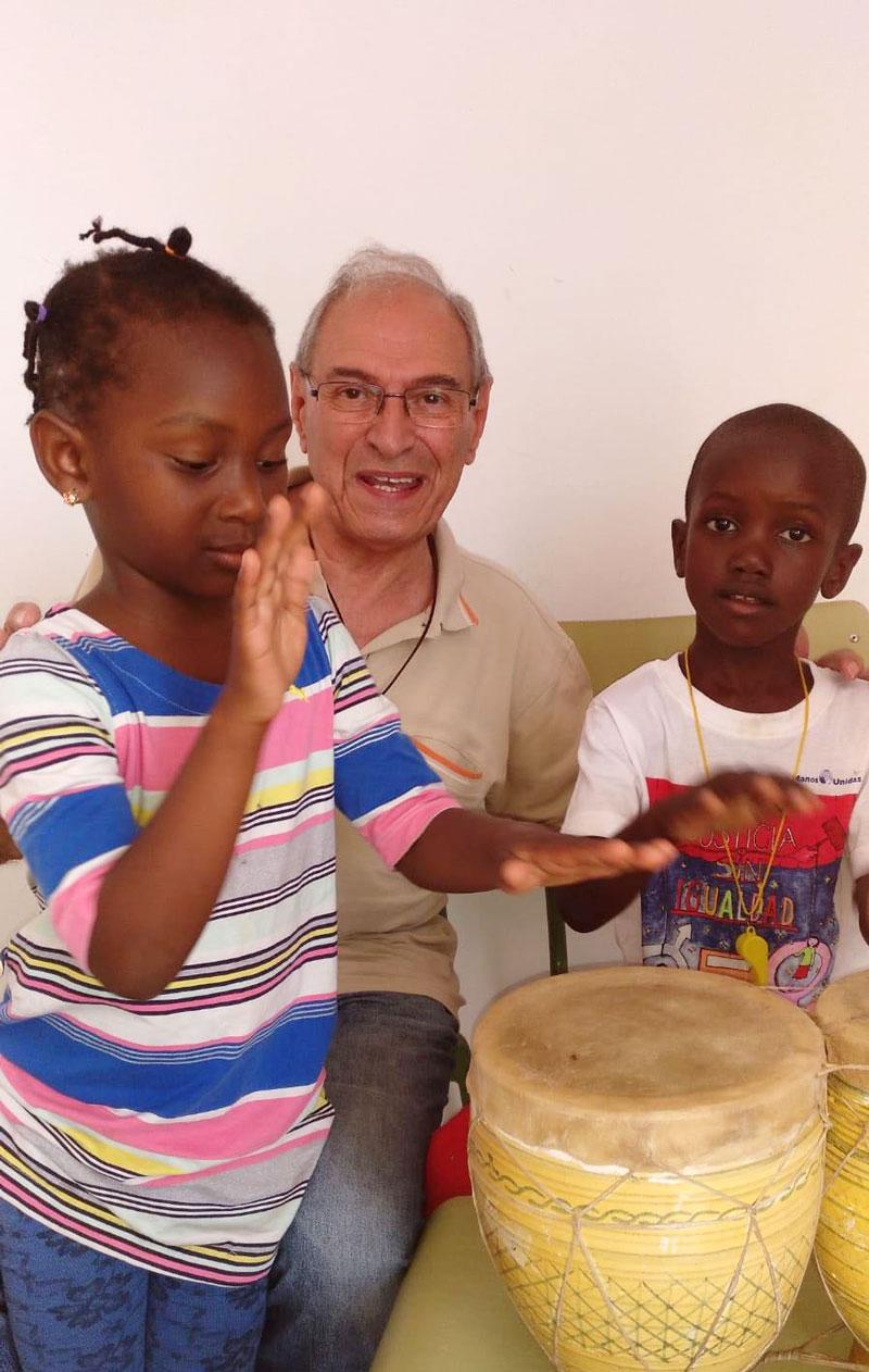 Níjar 2018 Niños y percusión