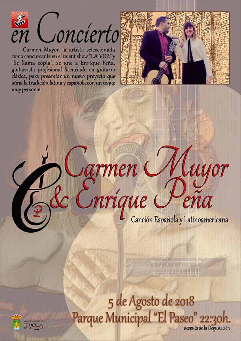 Concierto Carmen Muyor y Enrique Peña