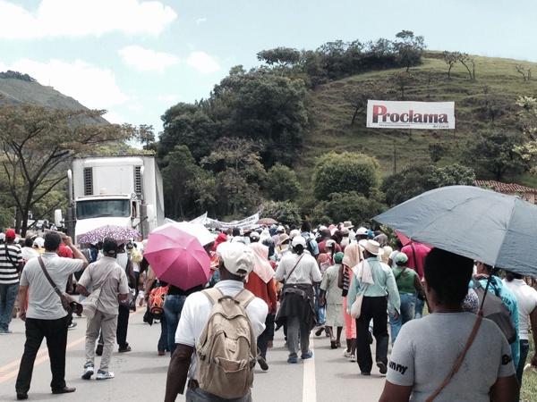 Movilización de los pueblos afros del norte del Cauca - Proclama del Cauca