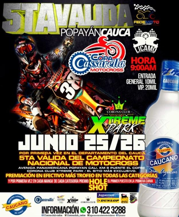 5 Valida Nacional de Motocross - Popayán - Cajibío