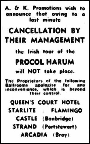 Procol Harum on tour : 1967