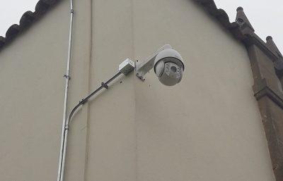 Camara de Vigilancia PTZ Exterior