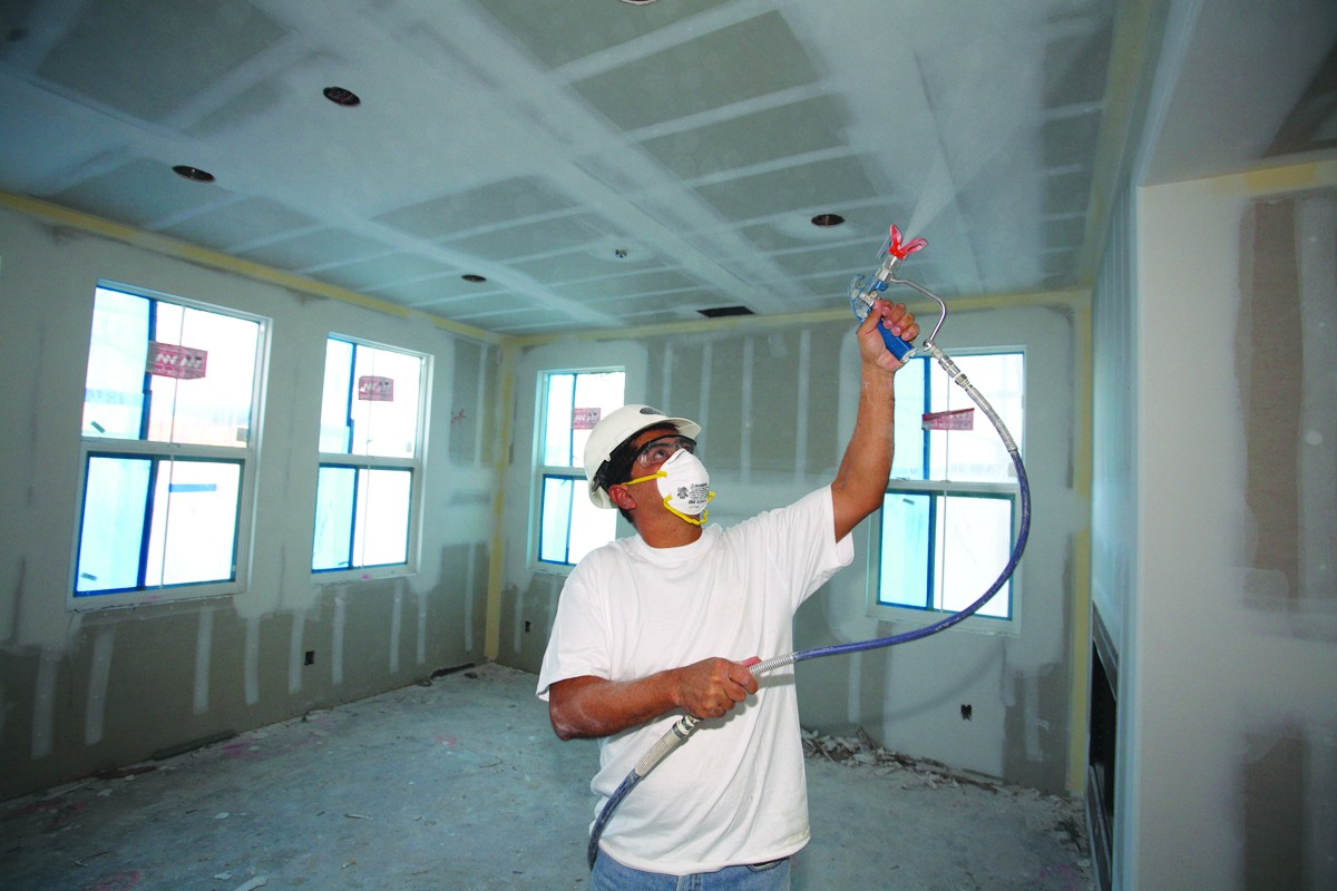How To Use An Airless Paint Sprayer Pro Construction Guide