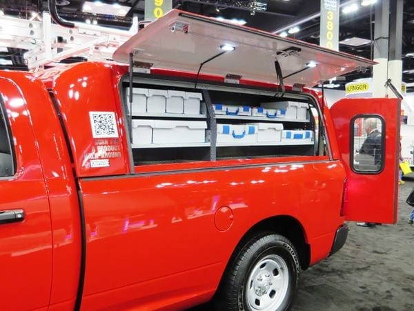Accessories for work trucks and vans  Pro Construction Guide