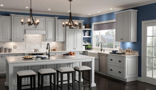 american woodmark kitchen cabinets Classic cabinets from American Woodmark - Pro Construction