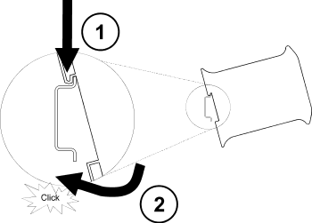 Din Rail Ethernet Switch DIN Rail Single Pole Disconnect