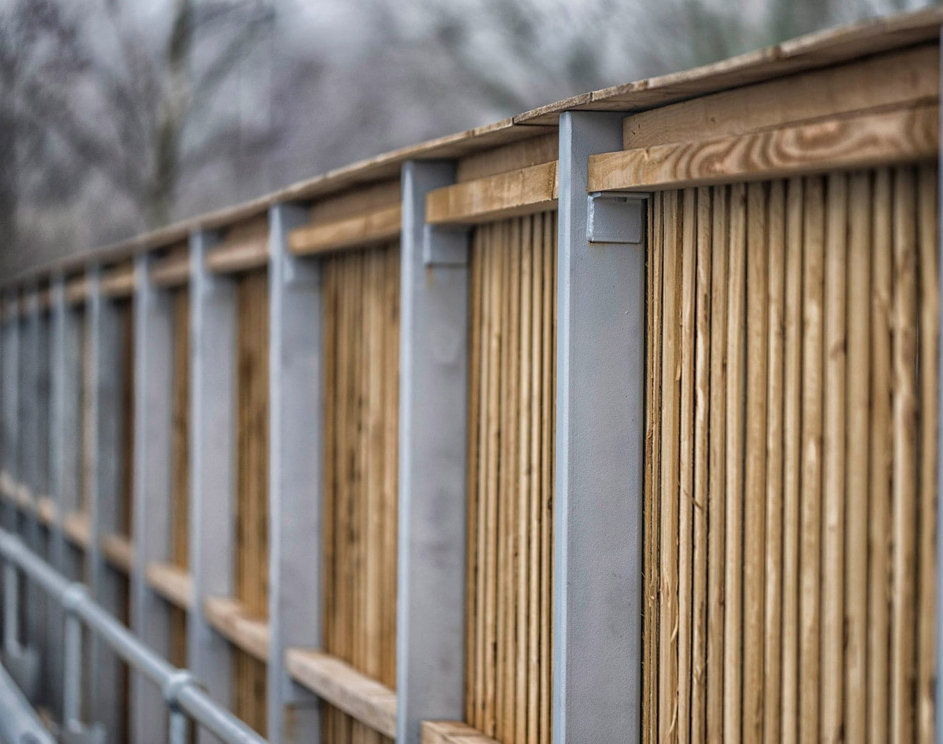 Timber Acoustic Fencing Acoustic Barriers Procter