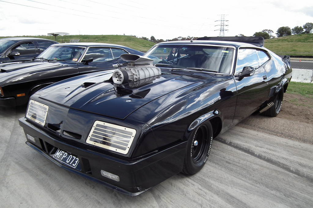 A replica of the modified Ford XB Falcon GT Interceptor. Photo by sv1ambo on Flickr / CC BY 2.0.