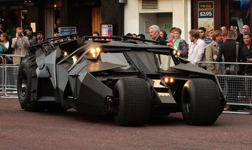 Batman's Tumbler. Image courtesy of bayerberg on Flickr.