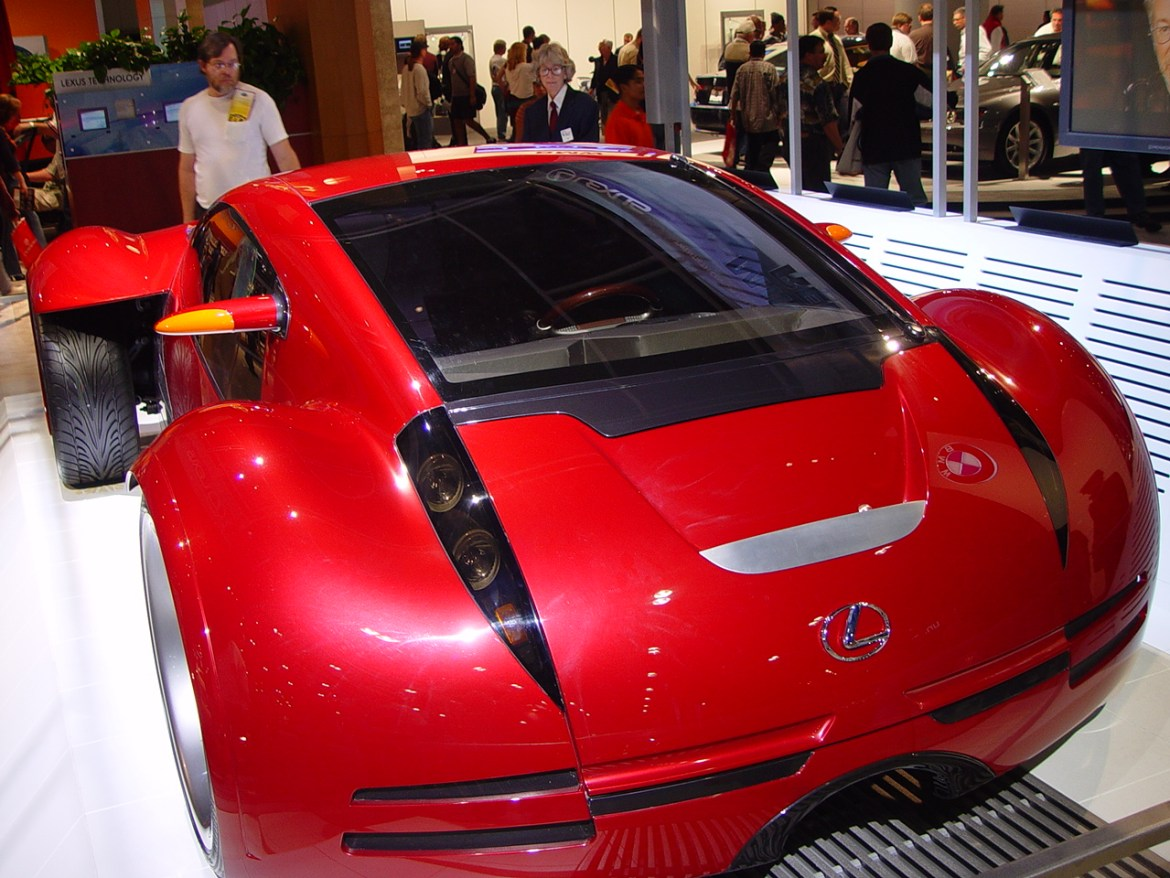 The Lexus concept car from Minority Report. Image courtesy of Craig Howell on Flickr.