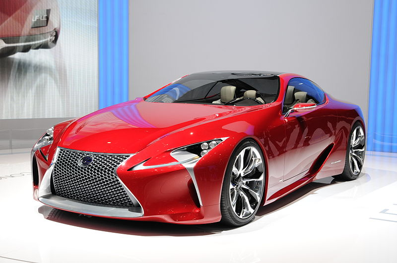 The 2017 Lexus SC will be based on the LF-LC concept.