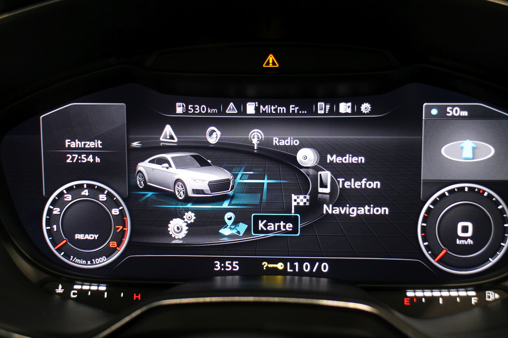 Audi TT interface. Photo by Robert Basic on Flickr / CC BY-SA 2.0.