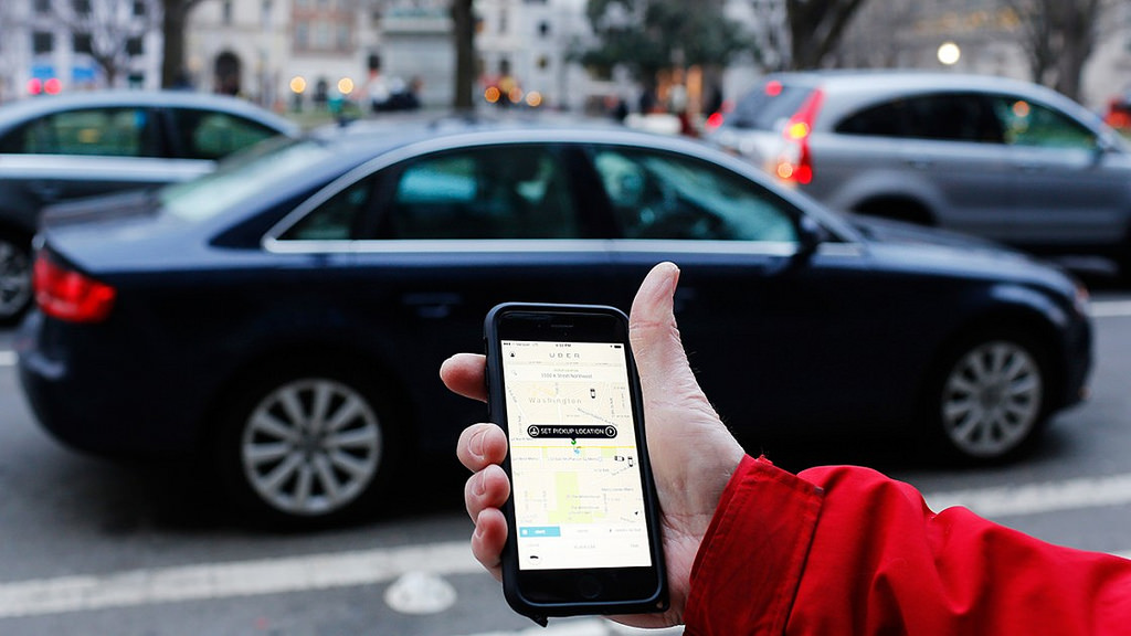 Uber has become one of the most popular ride sharing options. Photo by Mark Warner on Flickr / CC BY 2.0.