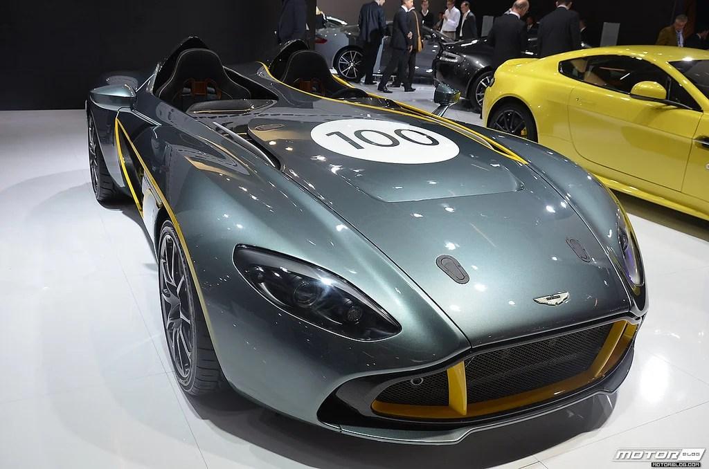 Aston Martin CC100 special edition cars
