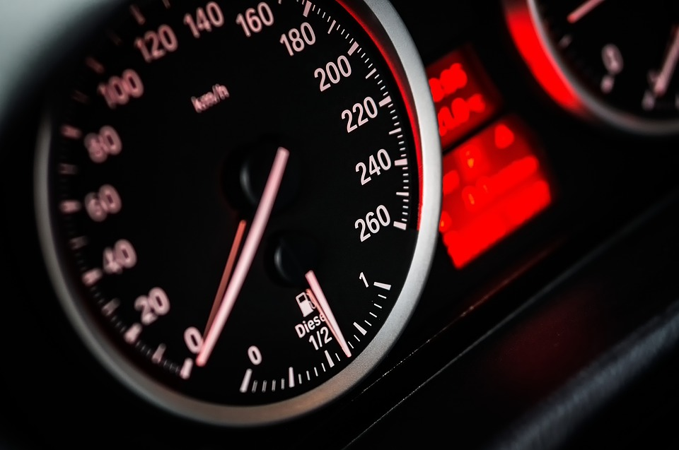 Speedometers tell you the speed of your vehicle.