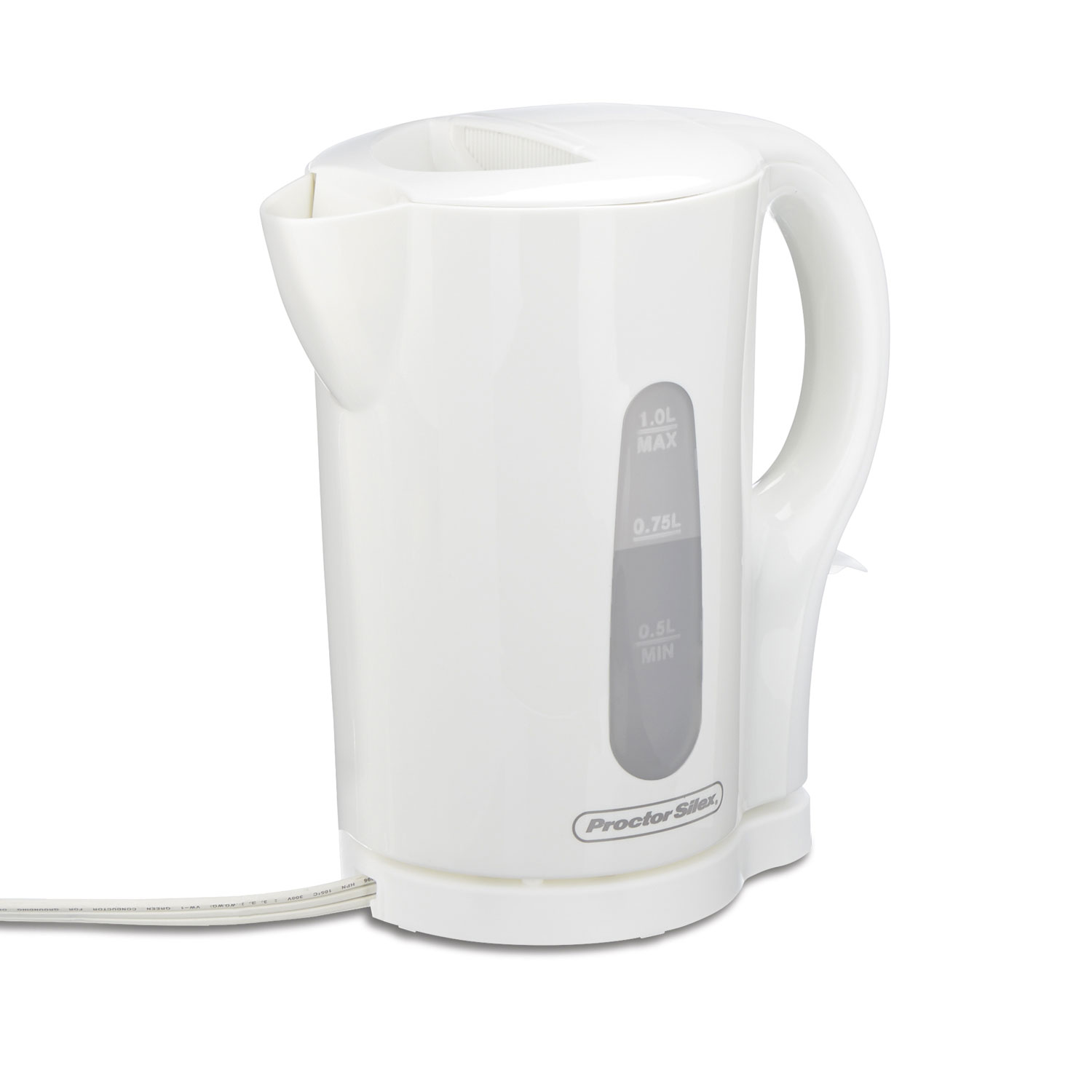 hight resolution of cordless 1 liter kettle white 41005 small size