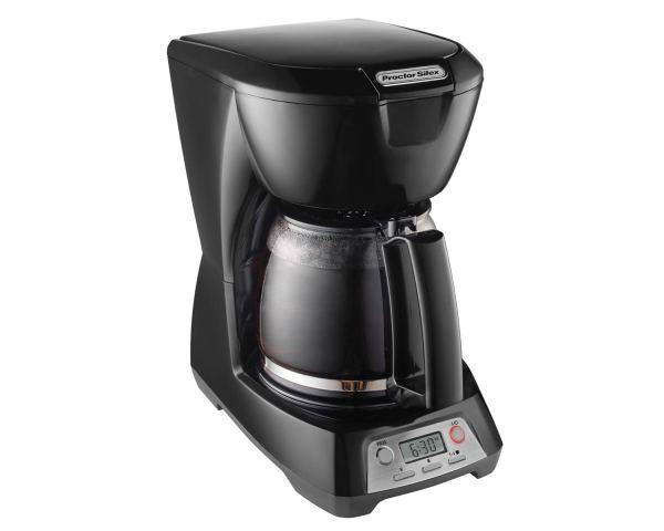 Programmable 12 Cup Coffee Maker Black - Model 43672