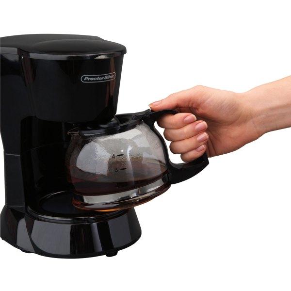 4 Cup Coffee Maker Black - Model 48138 Proctor-silex