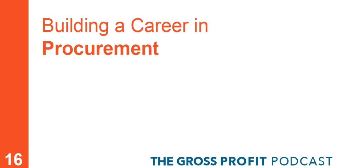 Career in procurement