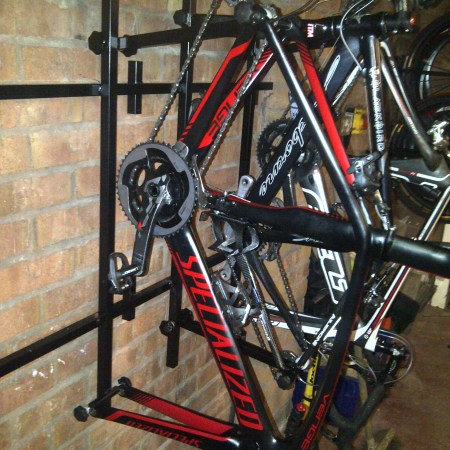 4 Bike Frame Storage Rack