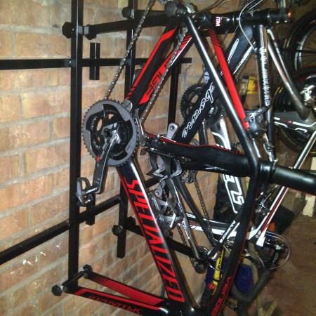 4 Bike Frame Storage Rack