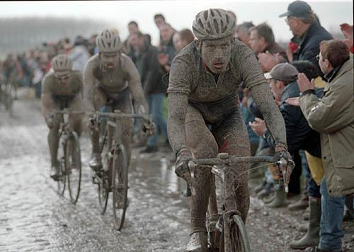 Paris Roubaix Hincapie Mud