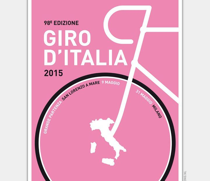 Giro d'Italia 2015 Poster