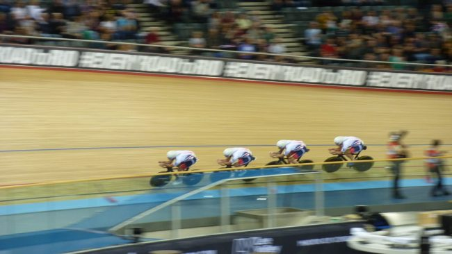 Great Britain Men's Team Pursuit World Track Championships 2016 London