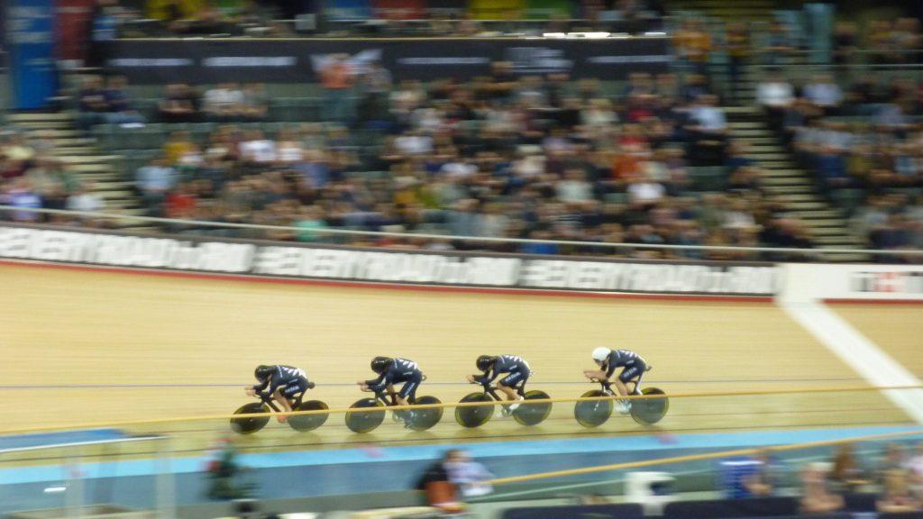 New Zealand Men's Team Pursuit World Track Championships 2016 London