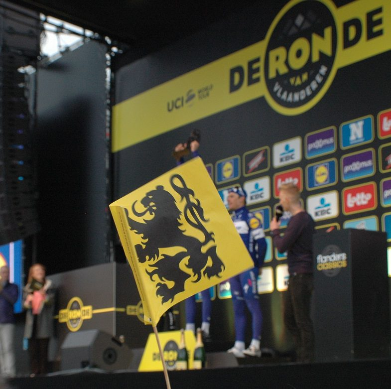 Tour of Flanders 2018 Podium