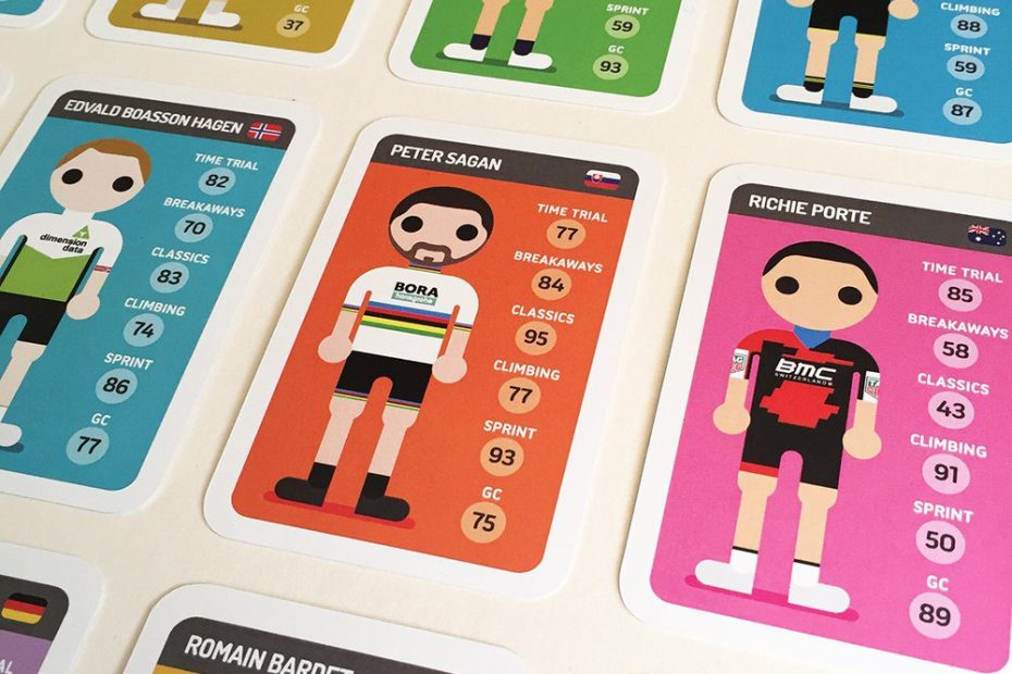 Pro Cycling Top Trumps Pack