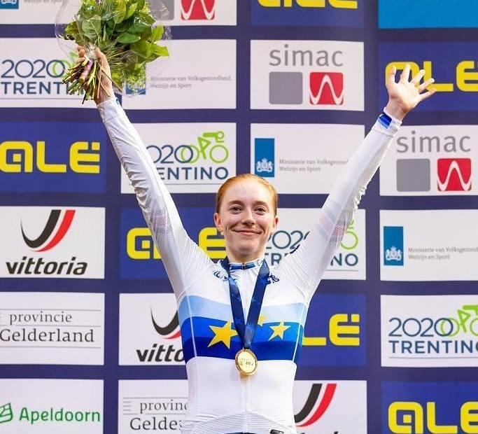Emily Nelson European Silver Medal